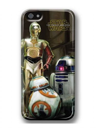 Star Wars The Force Awakens Droids iPhone 5 / 5s Cover Case